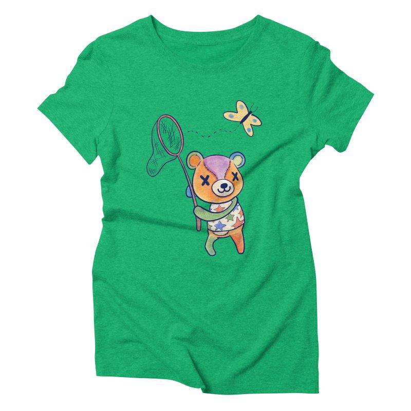 Stitches Women's Triblend T-Shirt by Kodi Sershon