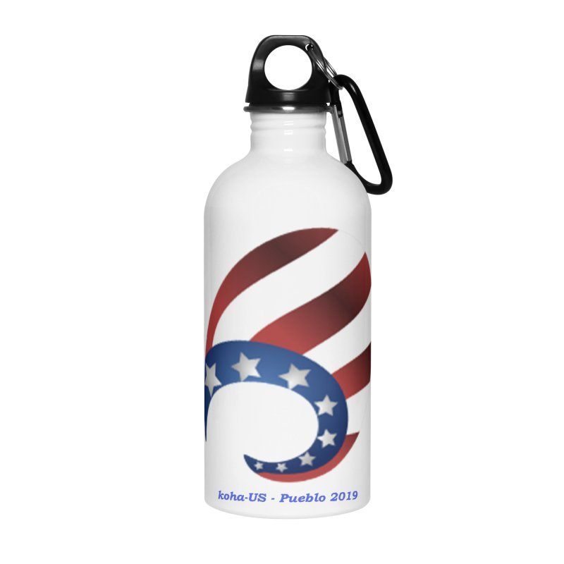 koha-US 2019 conference shirts and accessories in Water Bottle by kohaus's Artist Shop