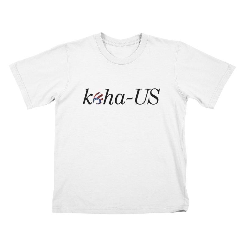 Logo Kids T-Shirt by kohaus's Artist Shop