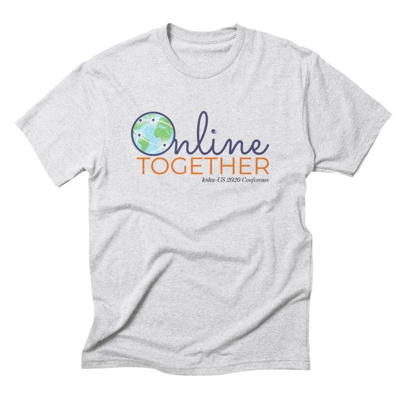 Online Together Men's T-Shirt by kohaus's Artist Shop