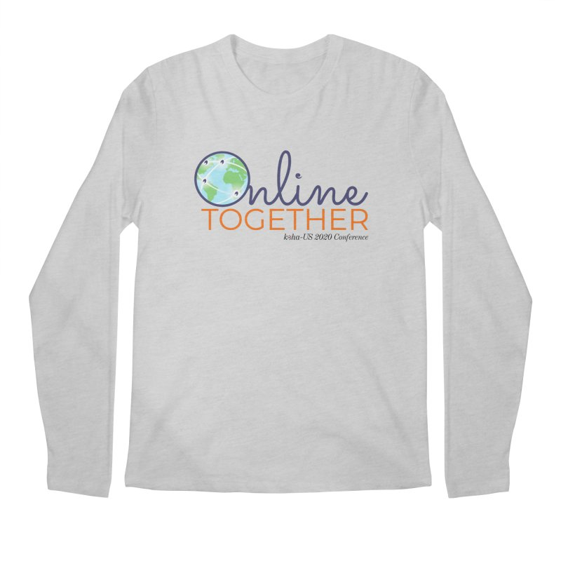 Online Together Men's Longsleeve T-Shirt by kohaus's Artist Shop