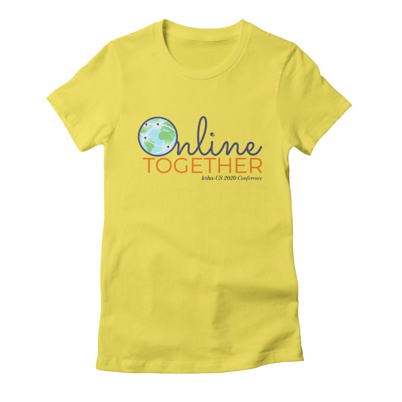 Online Together Women's T-Shirt by kohaus's Artist Shop