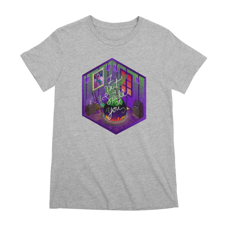 I put a spell on you Women's Premium T-Shirt by koi's Artist Shop