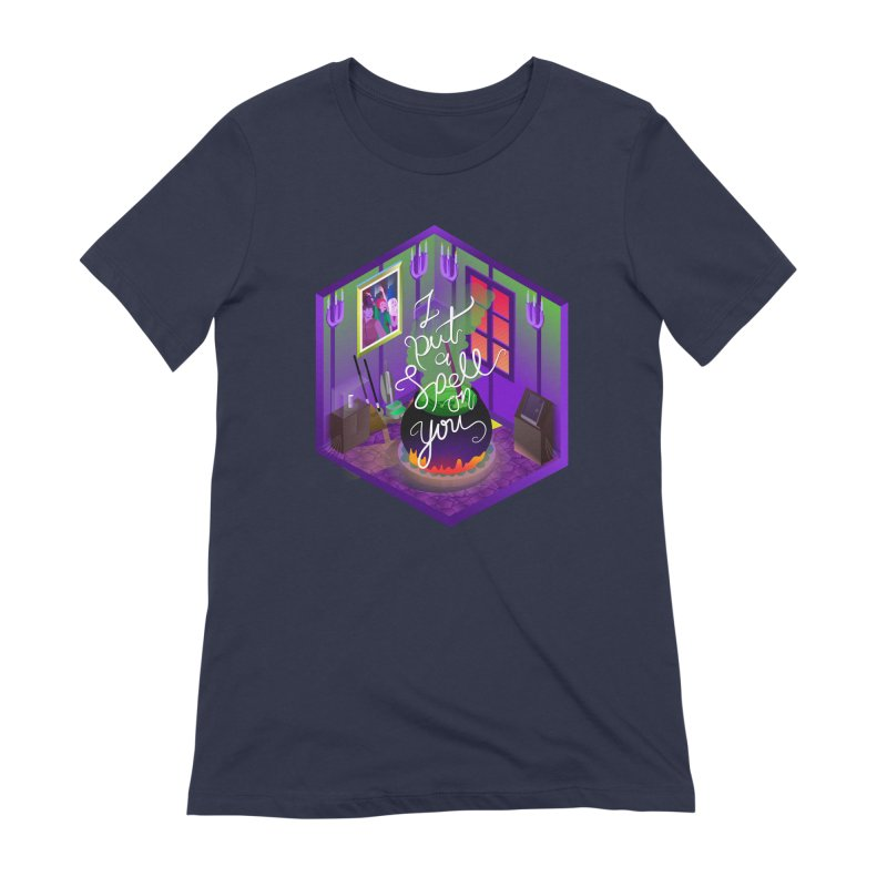 I put a spell on you Women's Extra Soft T-Shirt by koi's Artist Shop