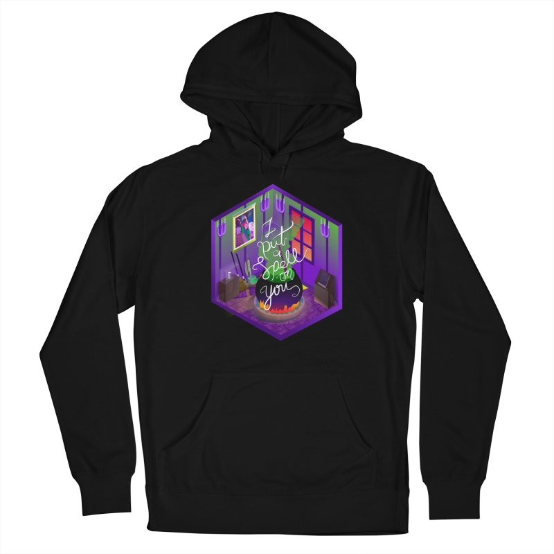 I put a spell on you Men's French Terry Pullover Hoody by koi's Artist Shop