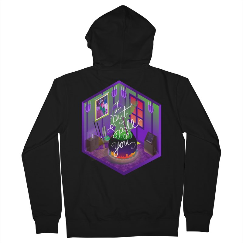 I put a spell on you Men's French Terry Zip-Up Hoody by koi's Artist Shop