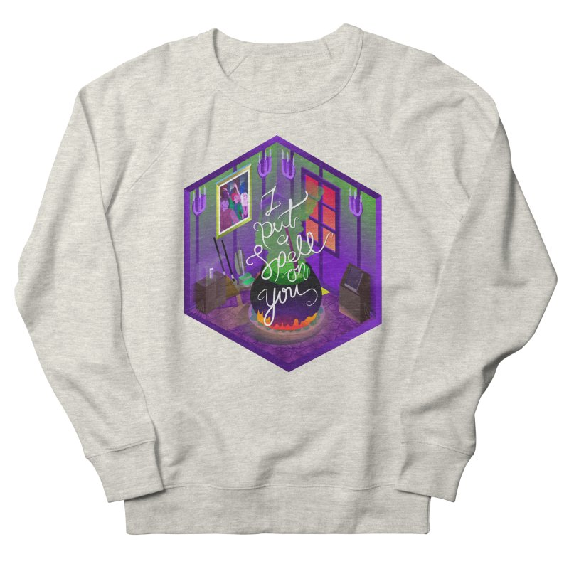 I put a spell on you Men's French Terry Sweatshirt by koi's Artist Shop