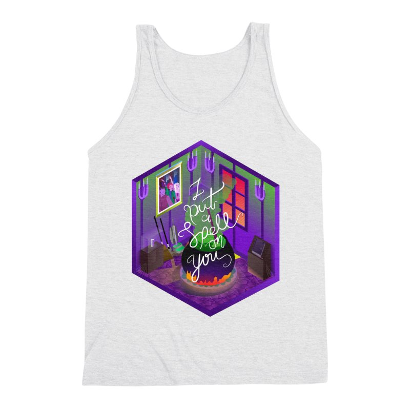 I put a spell on you Men's Triblend Tank by koi's Artist Shop