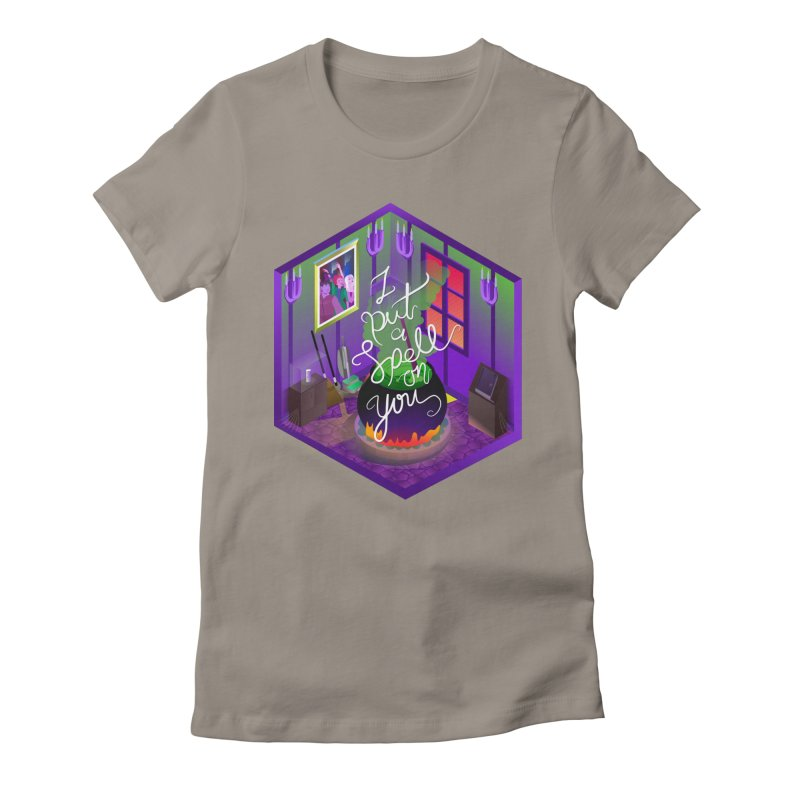 I put a spell on you Women's Fitted T-Shirt by koi's Artist Shop