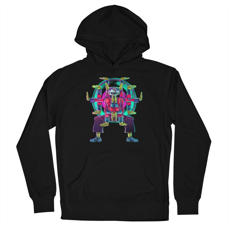 Tut Diagram Women's French Terry Pullover Hoody by koi's Artist Shop