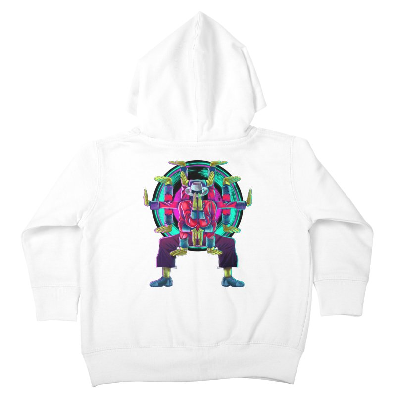 Tut Diagram Kids Toddler Zip-Up Hoody by koi's Artist Shop