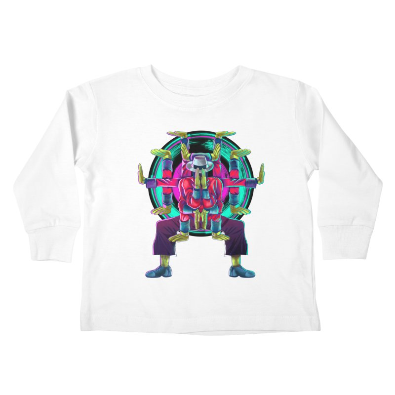 Tut Diagram Kids Toddler Longsleeve T-Shirt by koi's Artist Shop