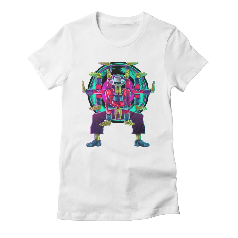 Tut Diagram Women's Fitted T-Shirt by koi's Artist Shop