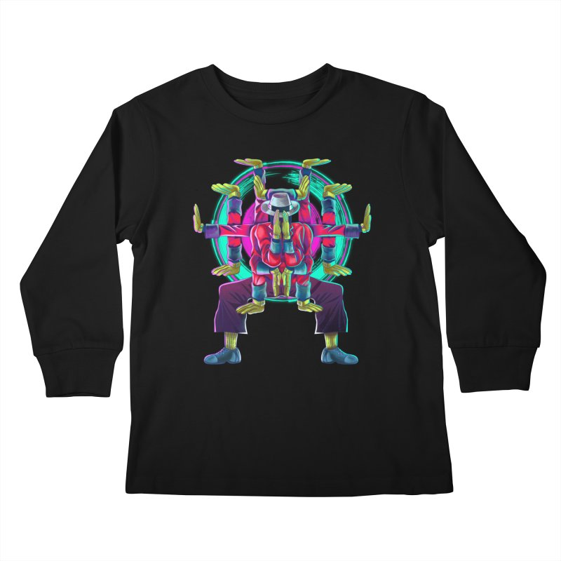Tut Diagram Kids Longsleeve T-Shirt by koi's Artist Shop