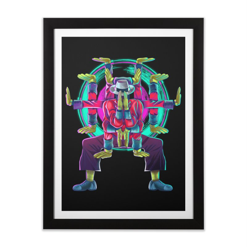 Tut Diagram Home Framed Fine Art Print by koi's Artist Shop