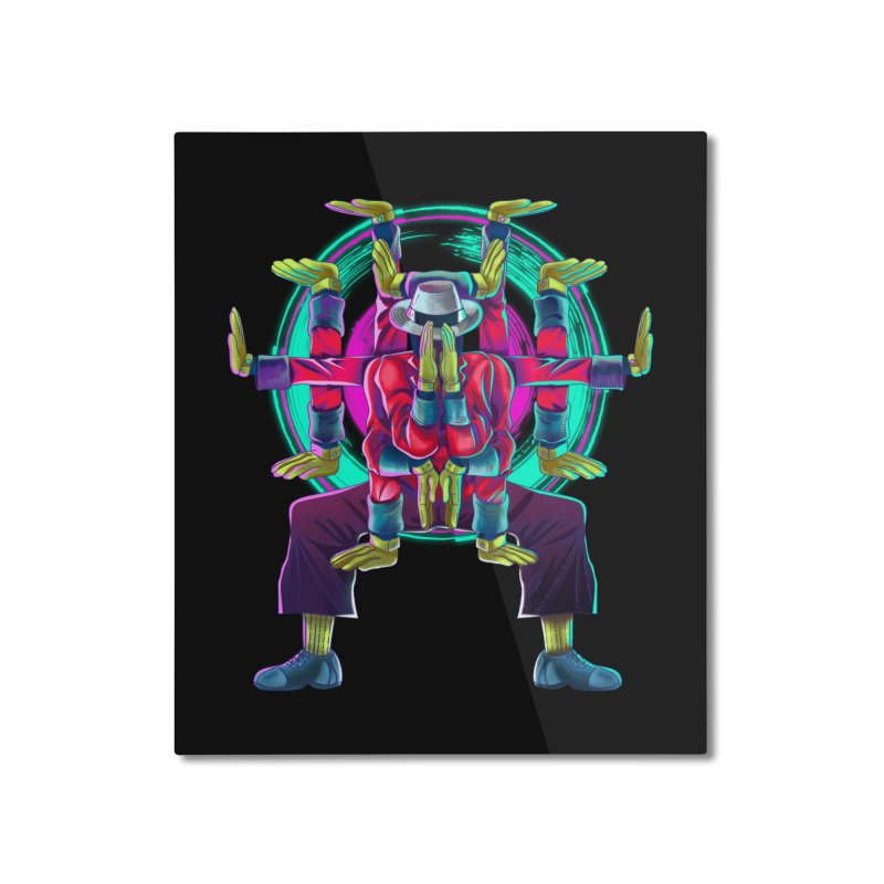 Tut Diagram Home Mounted Aluminum Print by koi's Artist Shop