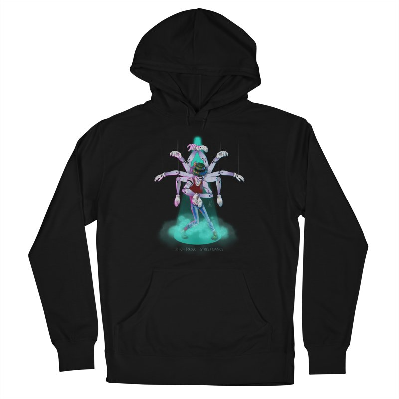 Puppet Diagram - Green Men's French Terry Pullover Hoody by koi's Artist Shop