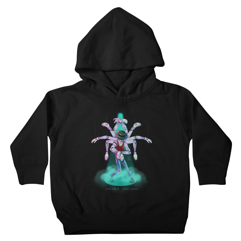Puppet Diagram - Green Kids Toddler Pullover Hoody by koi's Artist Shop