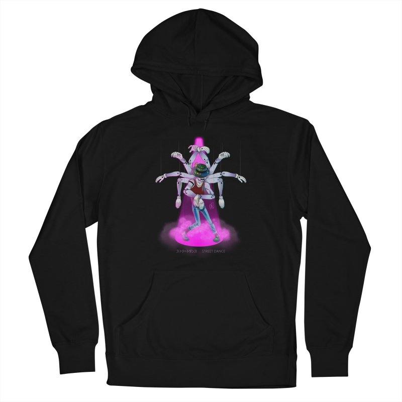 Puppet Diagram - Pink Women's French Terry Pullover Hoody by koi's Artist Shop
