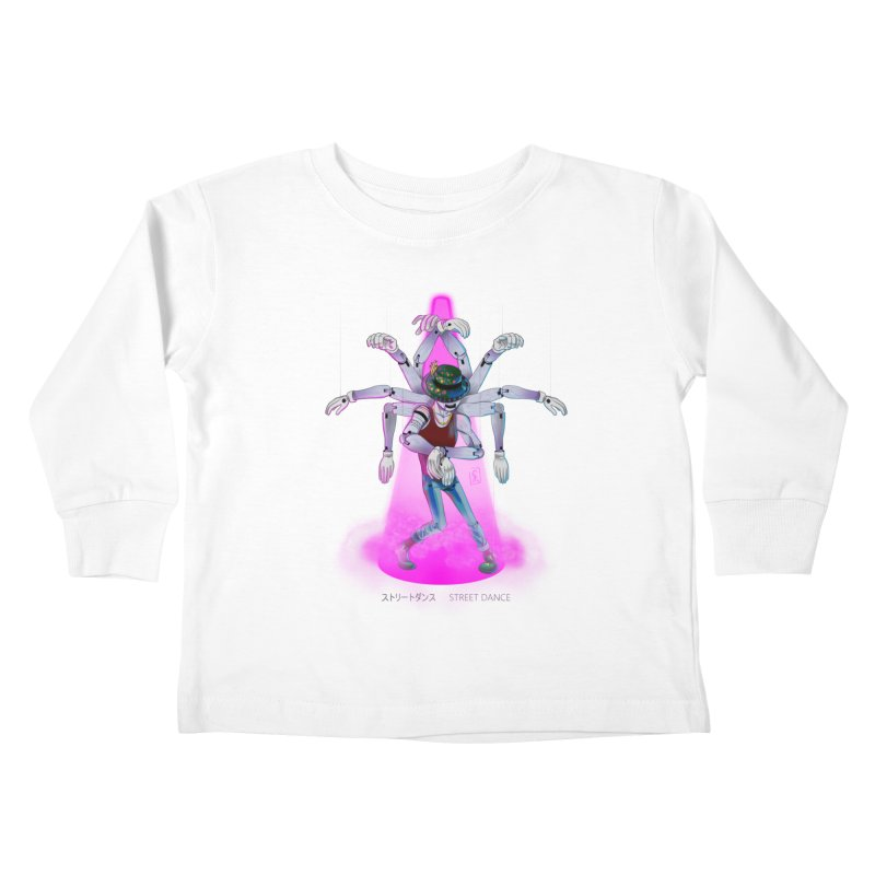 Puppet Diagram - Pink Kids Toddler Longsleeve T-Shirt by koi's Artist Shop