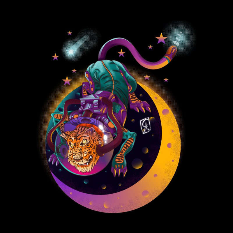 Moon Tiger by koi's Artist Shop