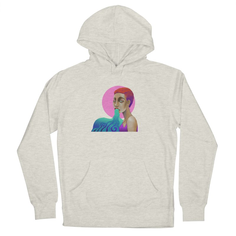 Ectoplasm Women's French Terry Pullover Hoody by koi's Artist Shop