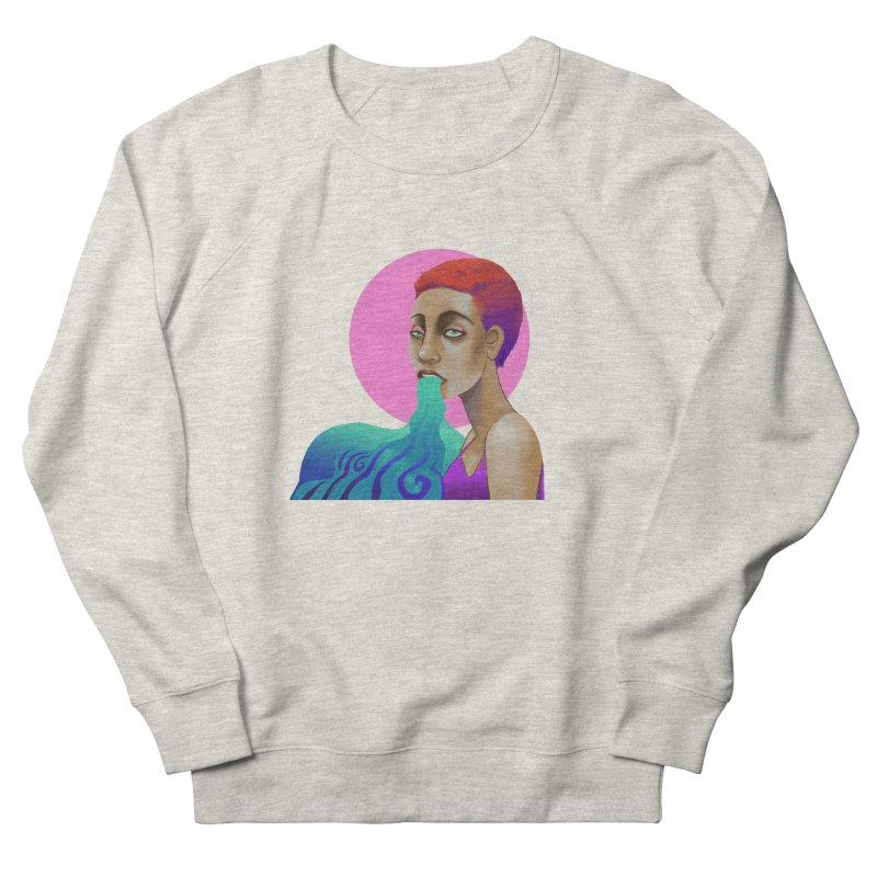 Ectoplasm Men's French Terry Sweatshirt by koi's Artist Shop