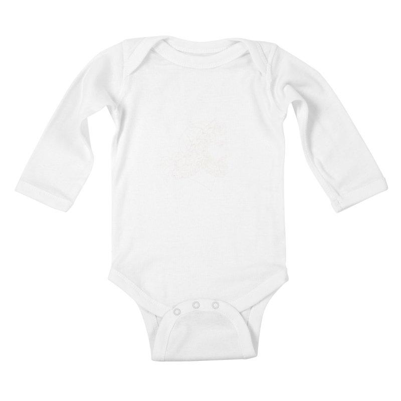 Zeus Kids Baby Longsleeve Bodysuit by kolovrat's Artist Shop