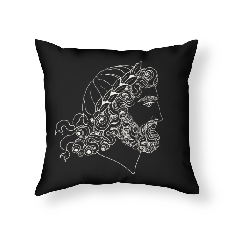 Zeus Home Throw Pillow by kolovrat's Artist Shop