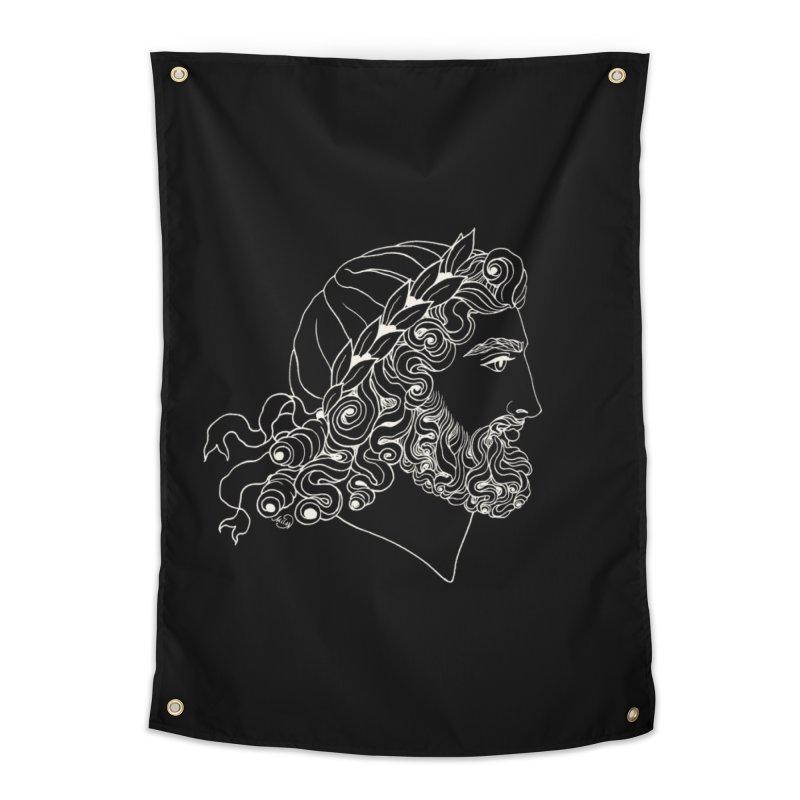 Zeus Home Tapestry by kolovrat's Artist Shop