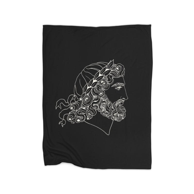 Zeus Home Blanket by kolovrat's Artist Shop