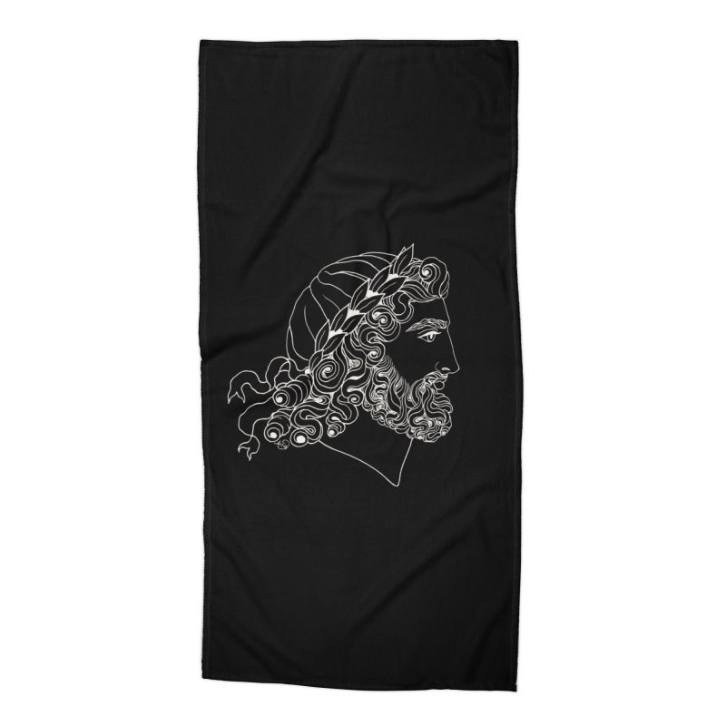 Zeus Accessories Beach Towel by kolovrat's Artist Shop