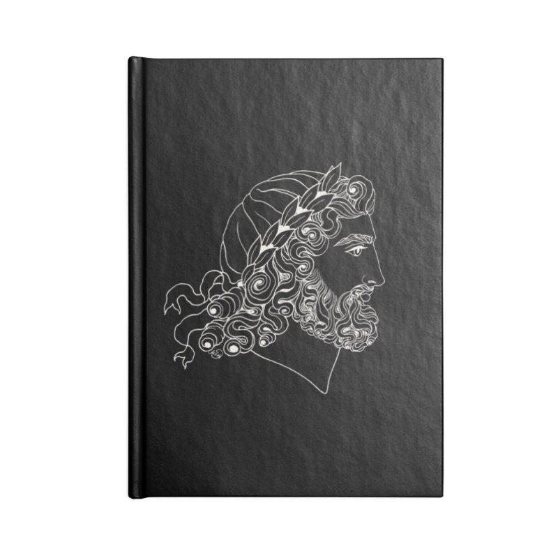Zeus Accessories Notebook by kolovrat's Artist Shop