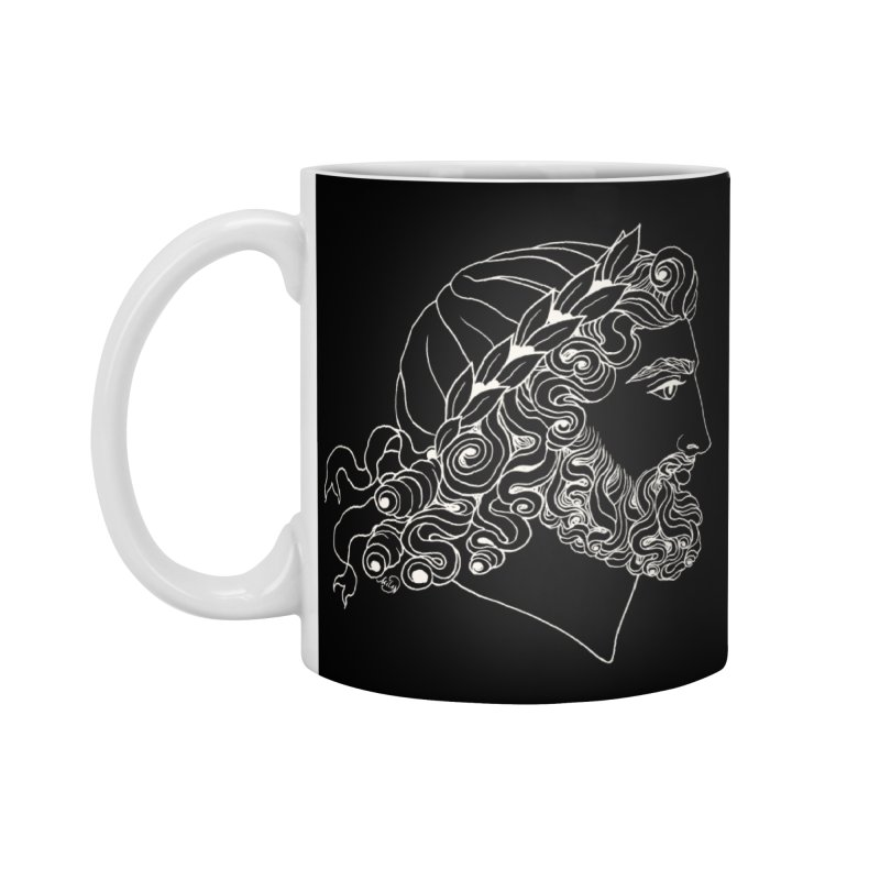 Zeus Accessories Mug by kolovrat's Artist Shop