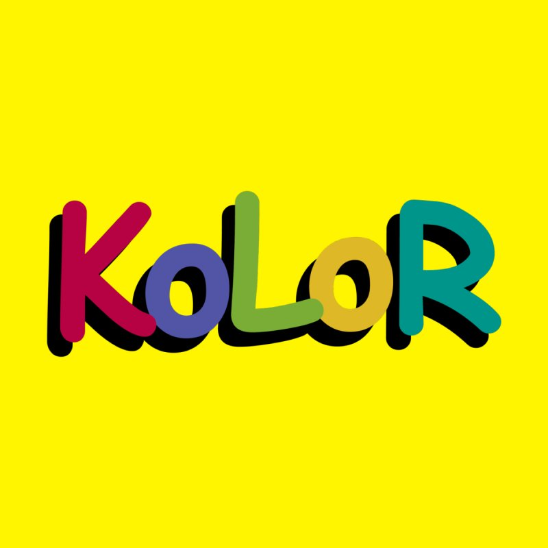KoLoR Home Mounted Aluminum Print by Kong Klothing