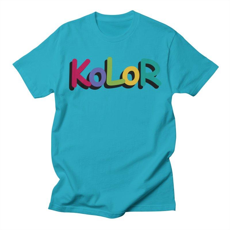 KoLoR Men's T-Shirt by Kong Klothing