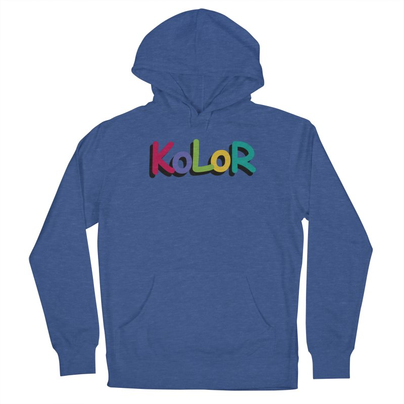 KoLoR Men's Pullover Hoody by Kong Klothing