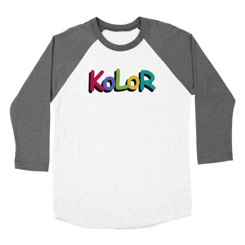 KoLoR Women's Longsleeve T-Shirt by Kong Klothing