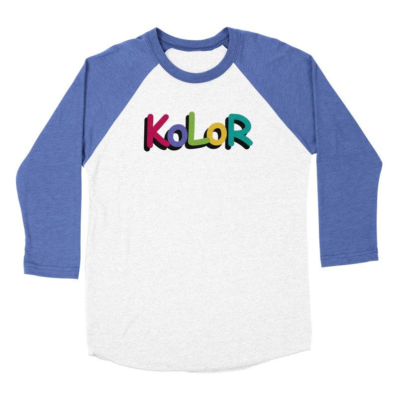 KoLoR Men's Longsleeve T-Shirt by Kong Klothing