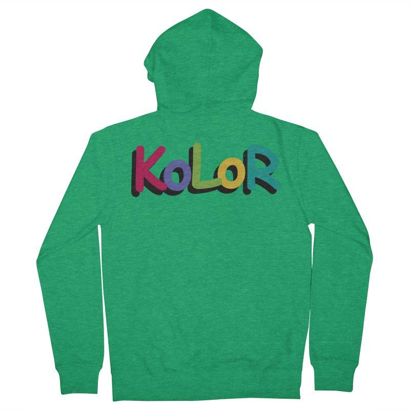 KoLoR Women's Zip-Up Hoody by Kong Klothing