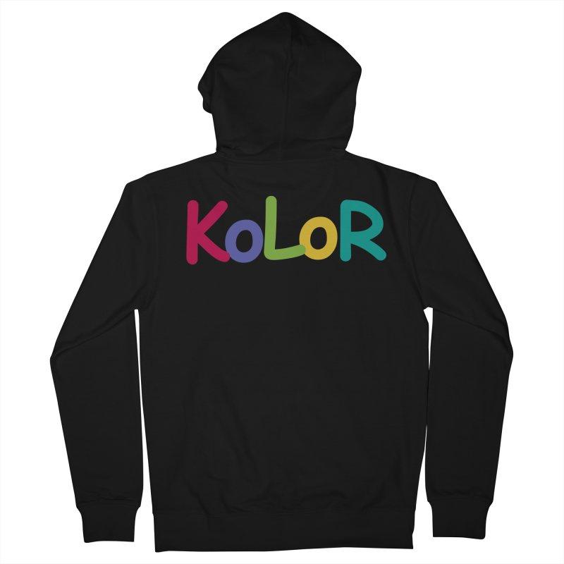 KoLoR Men's Zip-Up Hoody by Kong Klothing