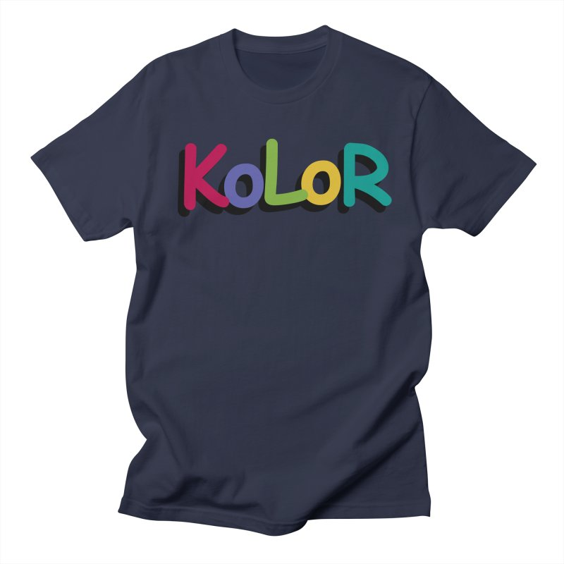 KoLoR Men's T-Shirt by Kong Klothing