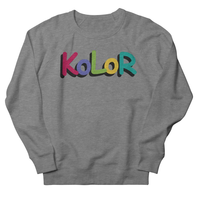 KoLoR Men's Sweatshirt by Kong Klothing