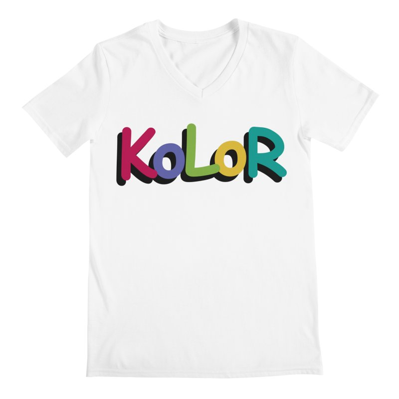 KoLoR Men's V-Neck by Kong Klothing