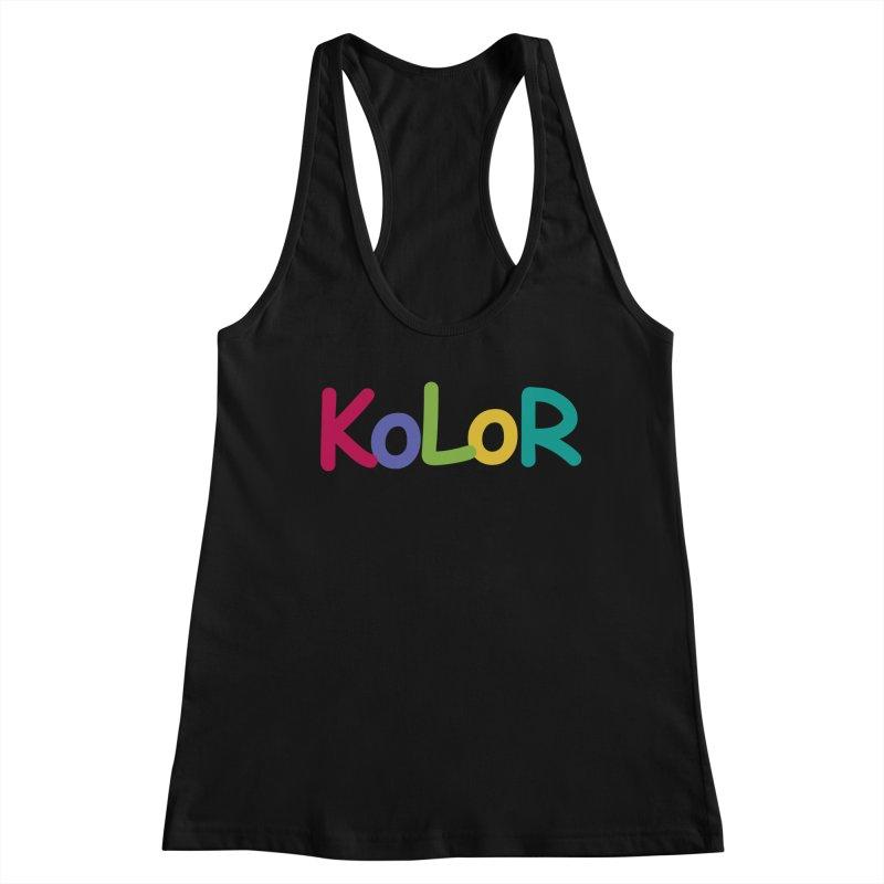 KoLoR Women's Tank by Kong Klothing