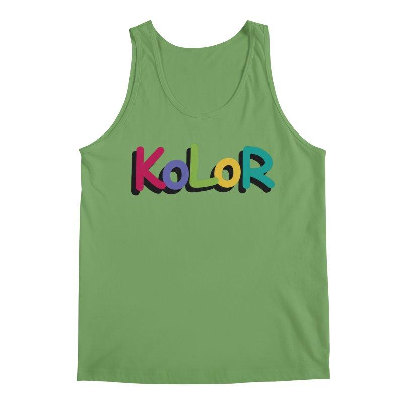 KoLoR Men's Tank by Kong Klothing