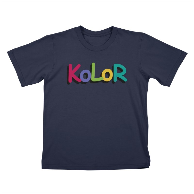 KoLoR Kids T-Shirt by Kong Klothing