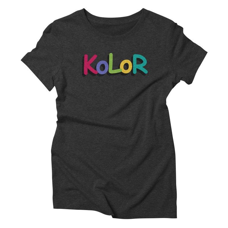 KoLoR Women's T-Shirt by Kong Klothing