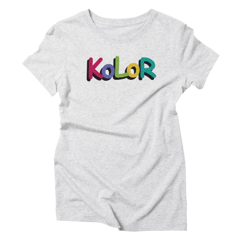 KoLoR Women's T-Shirt by Kong Klothing