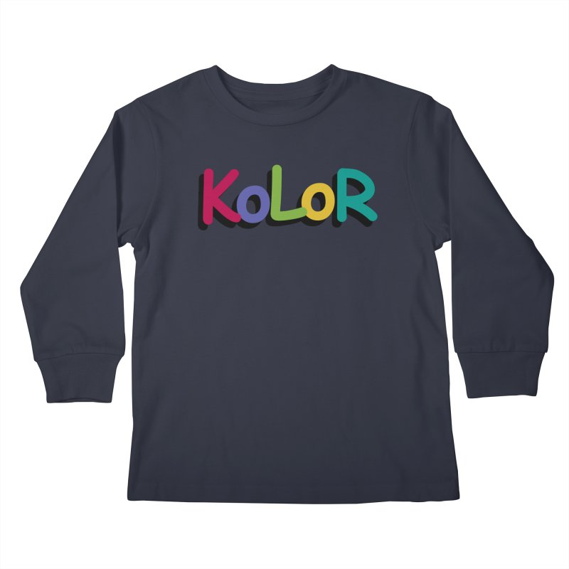 KoLoR Kids Longsleeve T-Shirt by Kong Klothing